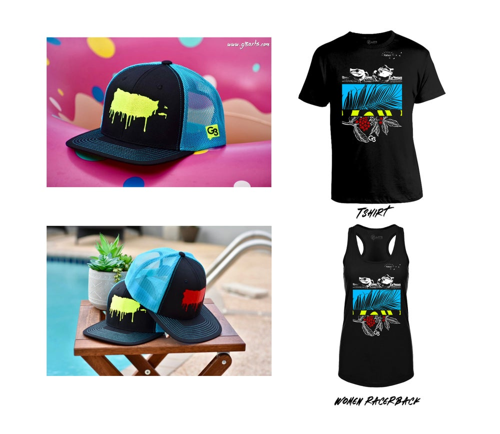 "Image of ""Paraíso"" Tshirt & Hats"