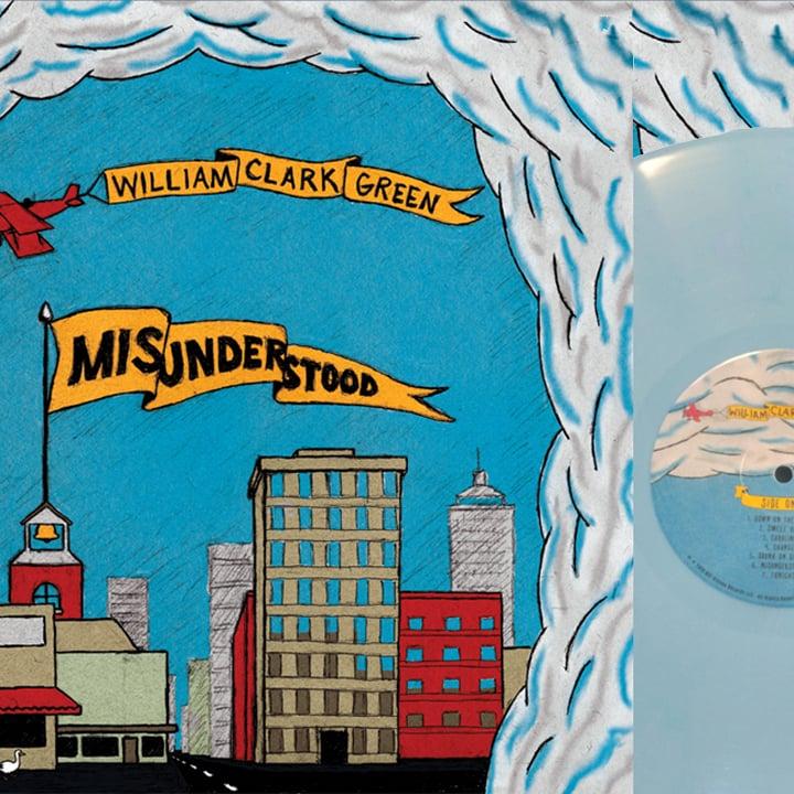 Image of Misunderstood Vinyl - Limited Edition Blue vinyl