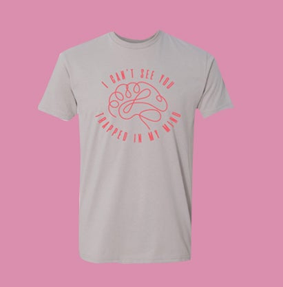 Image of Afraid of Being Saved Brain Tee