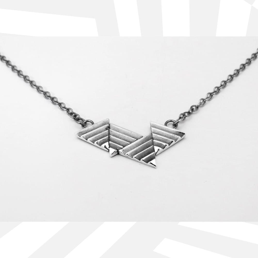 Image of Quad Delta Necklace