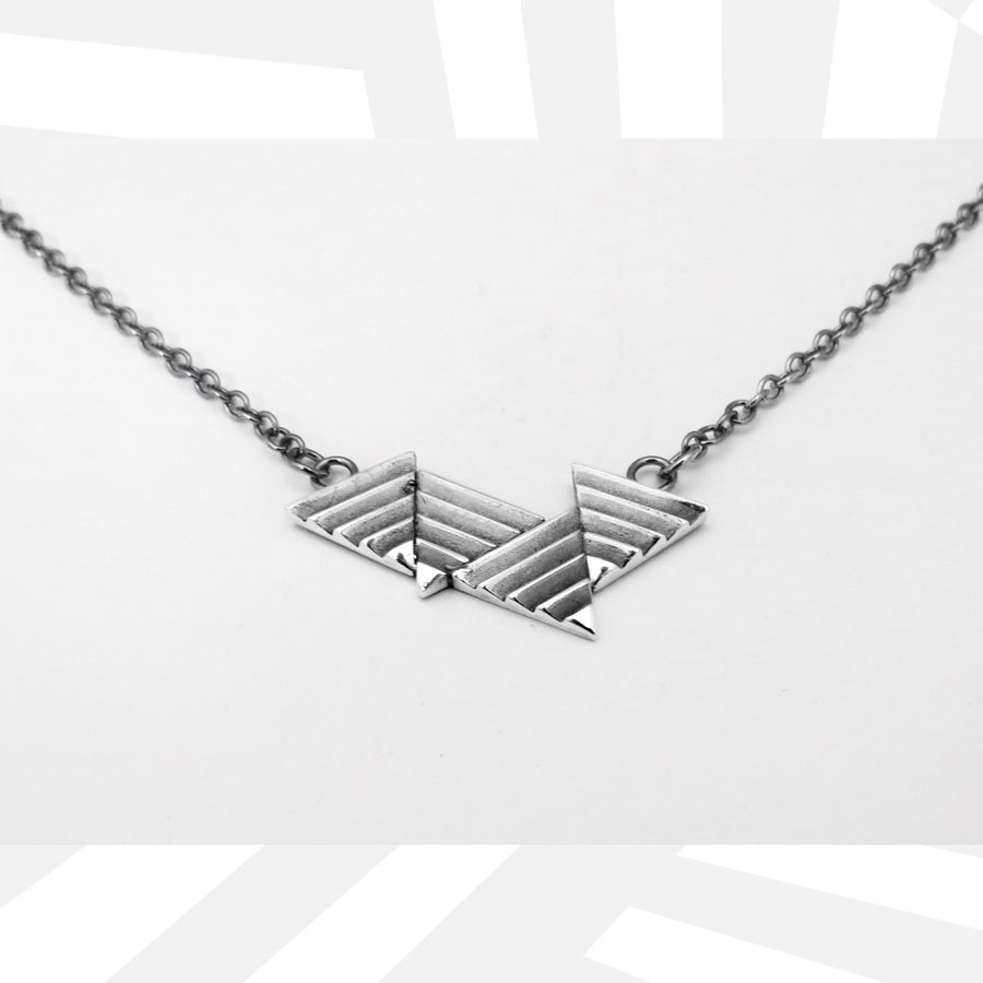 Image of Quad Delta Necklace