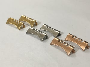 Image of LUG ENDS For OMEGA WATCH STRAPS,18mm/19mm/20mm,3 X COLORS.NEW