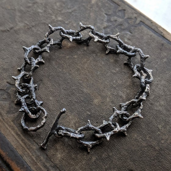 Image of In thorns Shackle bracelet