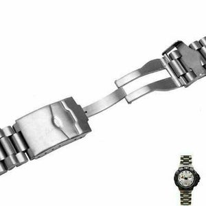 Image of TAG HEUER SPORTS STAINLESS STEEL GENTS WATCH STRAP,20MM/22MM,