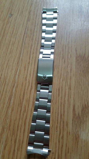 Image of ROLEX OYSTER STAINLESS STEEL DATE JUST GENTS WATCH STRAP.-19MM/20MM,NEW