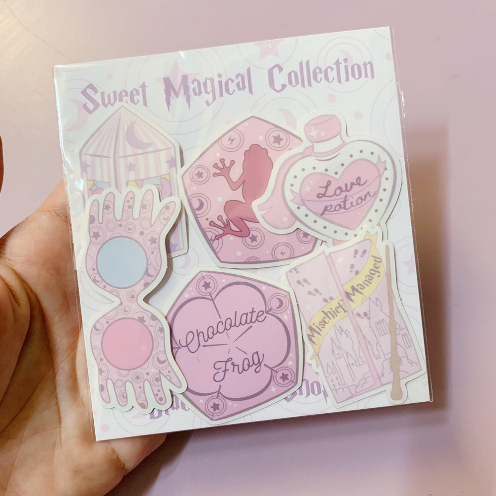 Image of Magical Stickers Complete Set