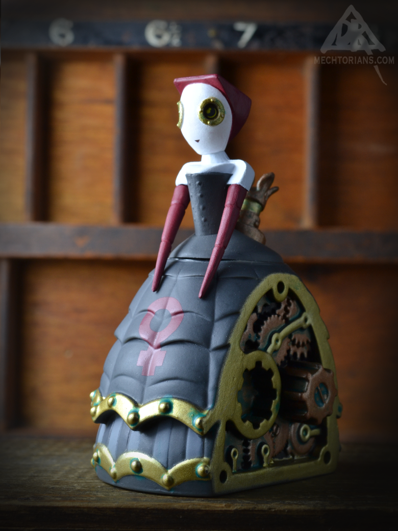 Image of Demi Dalrymple - Mini Mechtorian vinyl figure *FREE SHIPPING*
