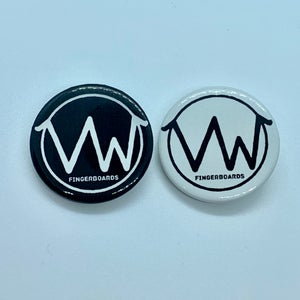 Image of VW logo button badge