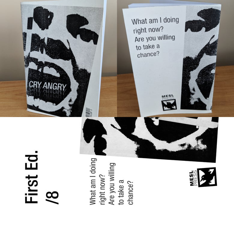 Image of Cry Angry Zine - First Edition (/8)