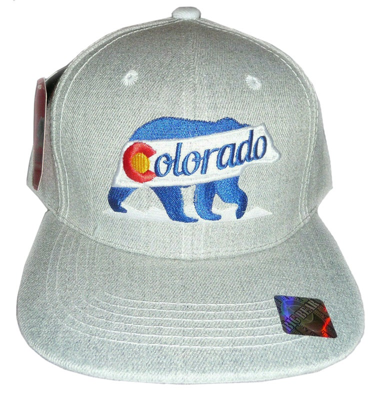 Image of COLORADO GREY BEAR SNAPBACK HAT