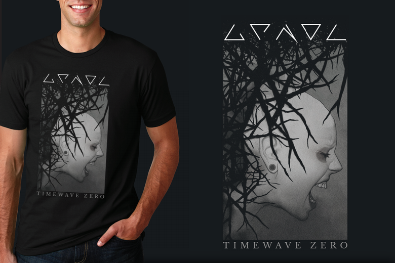 "Image of T-shirt - ""Timewave Zero"" Reboot"