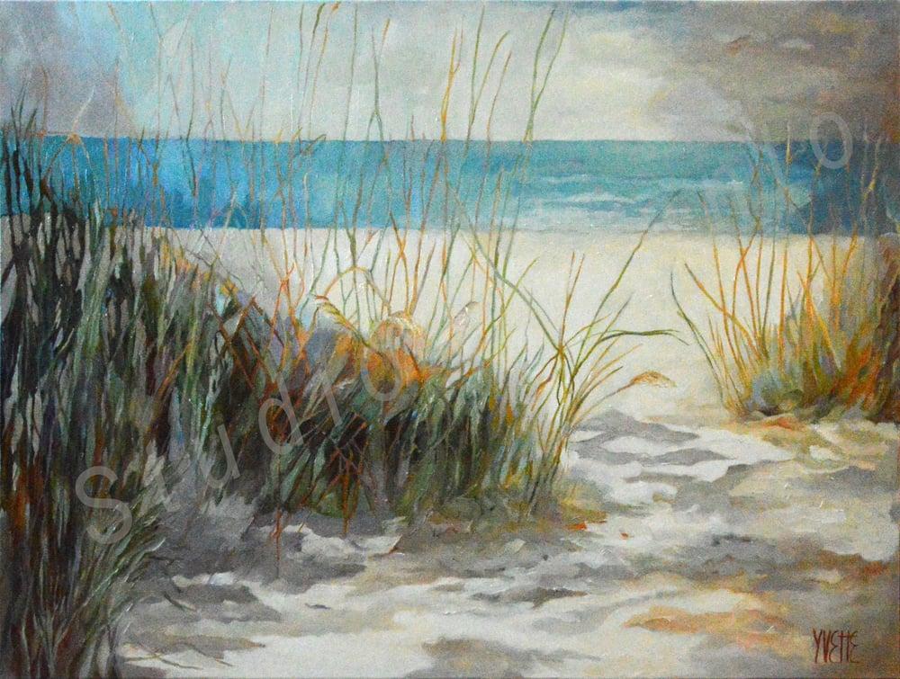 Image of Sand Key II by Yvette Galliher