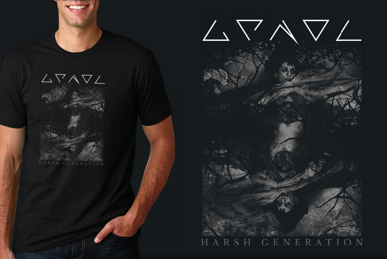 "Image of T-shirt - ""Harsh Generation Reboot"""