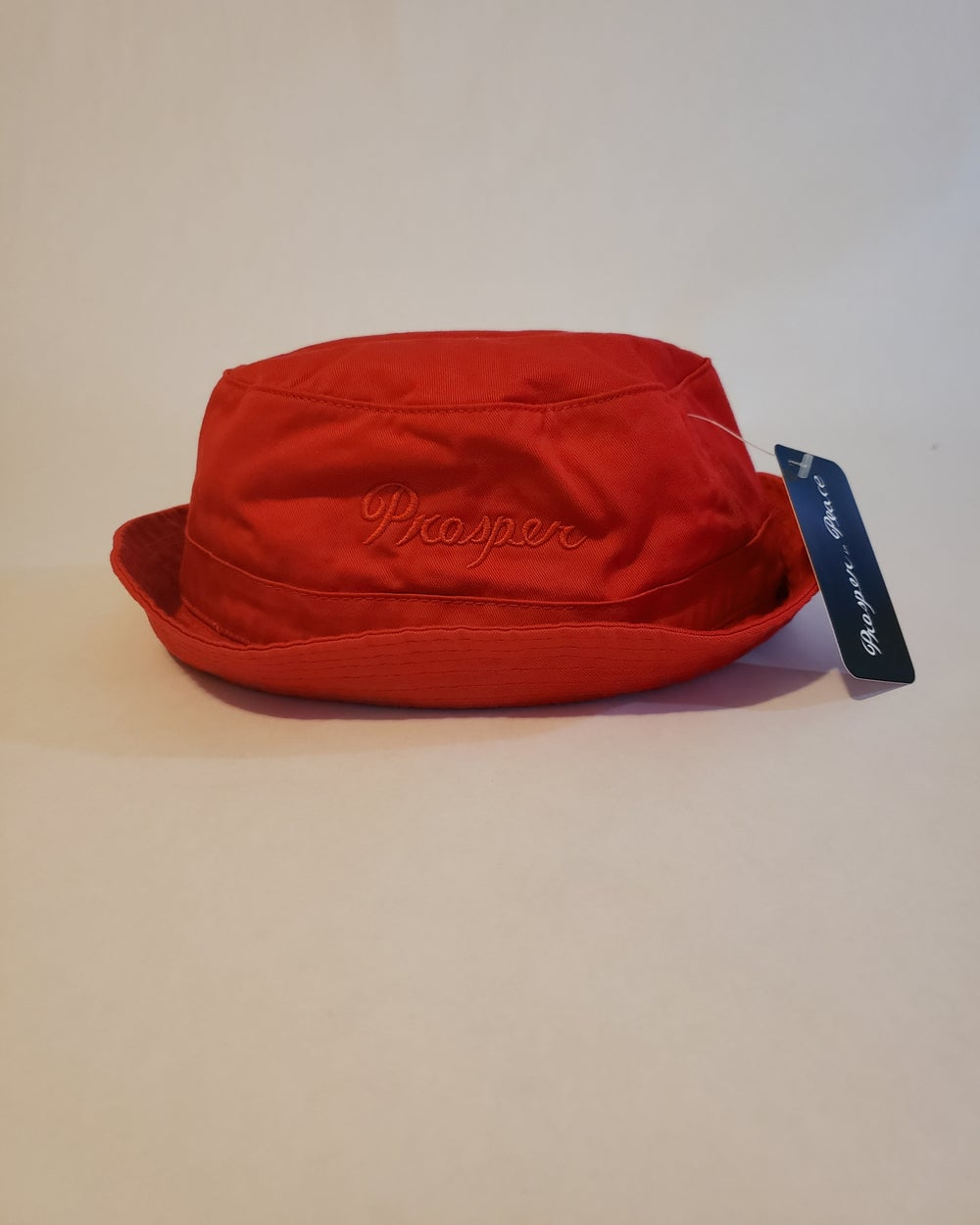 Image of Red on red bucket hat