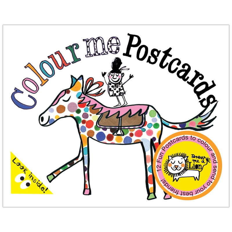 Image of Colouring Postcard Booklet (Animals)
