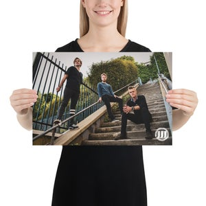 Image of WMB Staircase Poster