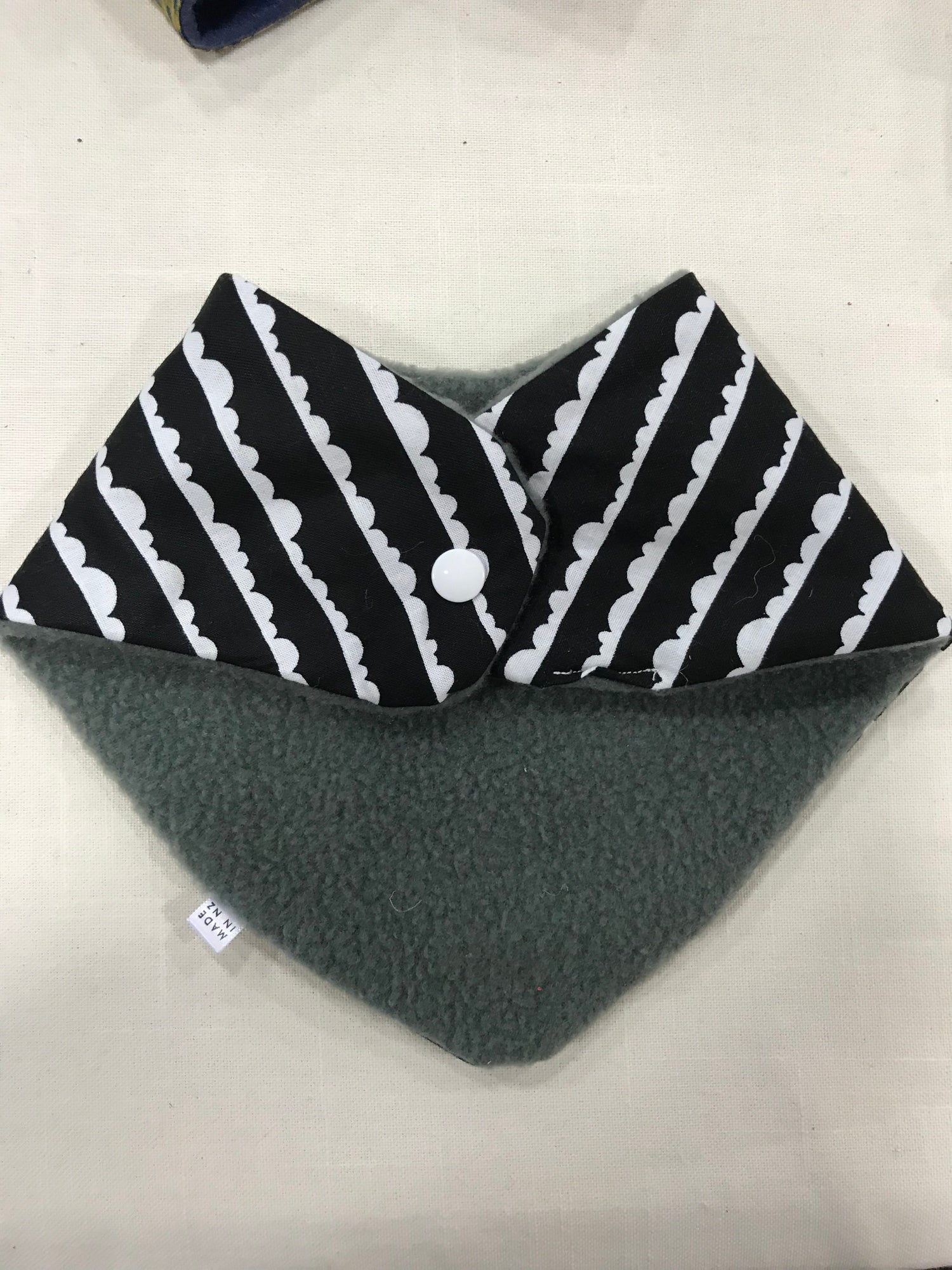Image of Black and White Bandana