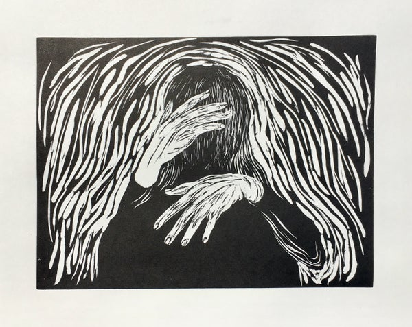 Image of Was it just a Dream? Relief print