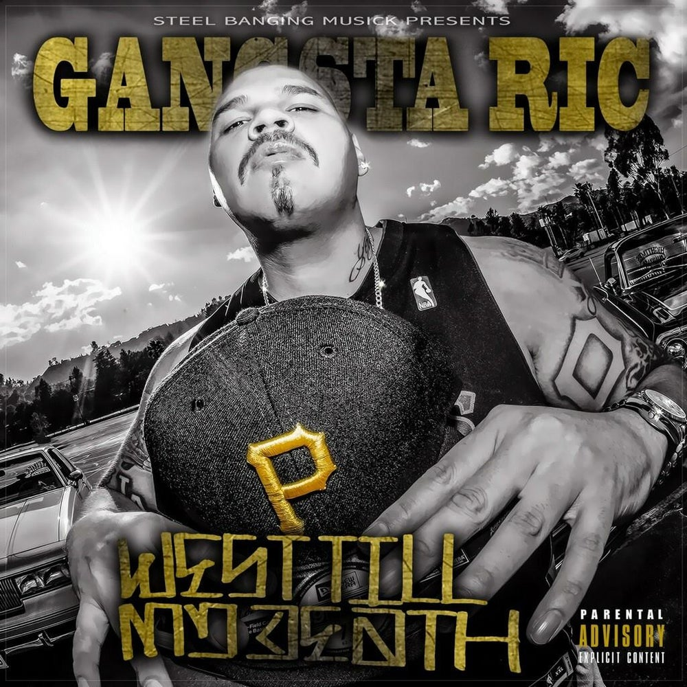 "Image of ""WEST TILL MY DEATH"" by GANGSTA RIC"