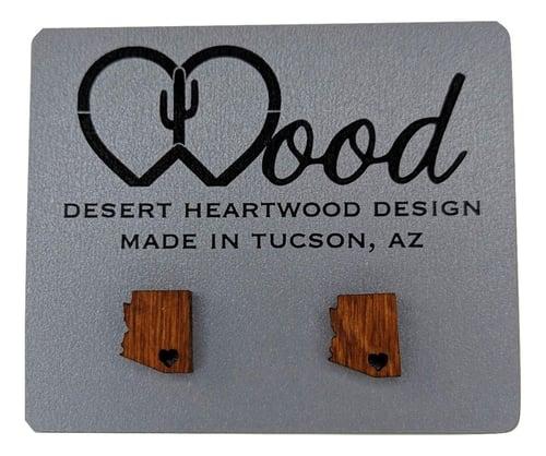 "Image of ""Sweet Home Arizona"" Studs"