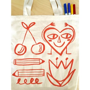 Image of Colour Me Awesome Friends Tote Kit with Markers