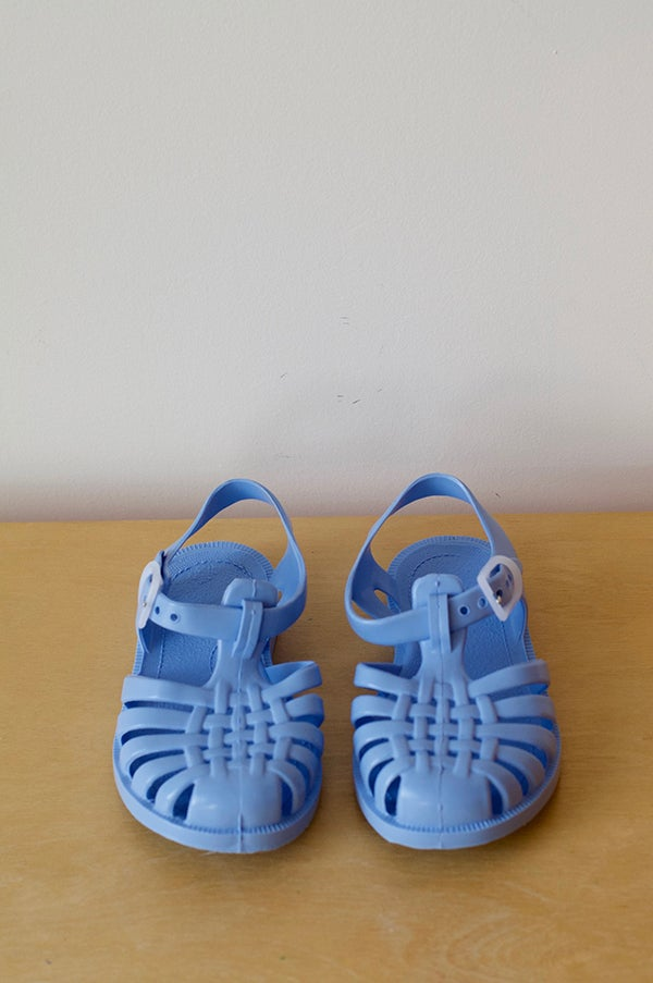 Image of French SunJelly Sandals — Cornflower Blue