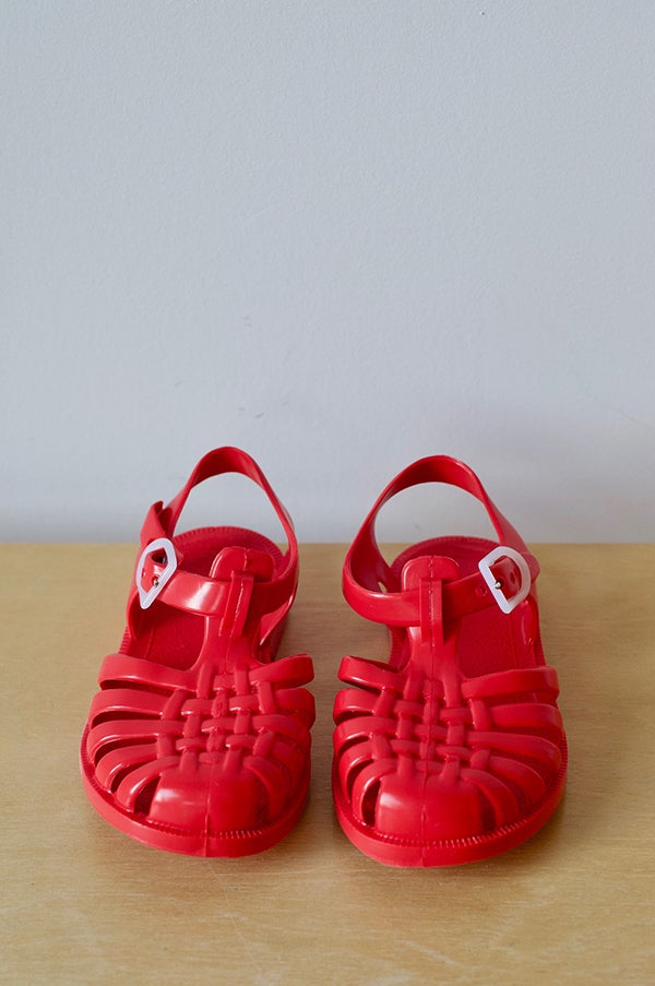 Image of French SunJelly Sandals — Red