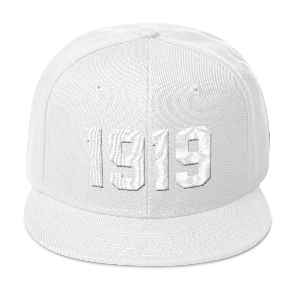 Image of 1919 Snapback / Dad Hat White