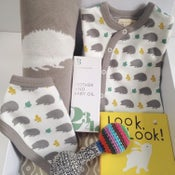 Image of Neutral Organic Woodland Baby Box