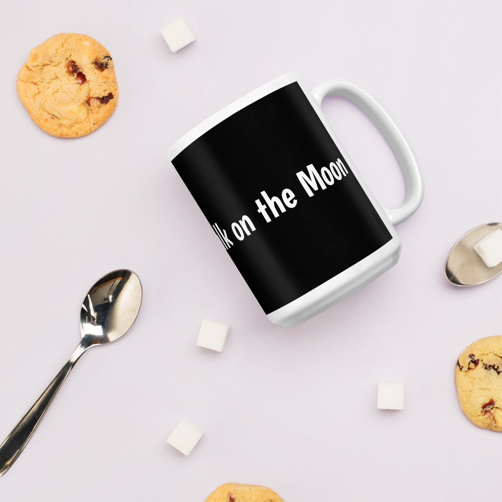 Image of 'Man Didn't Walk on the Moon' Mug