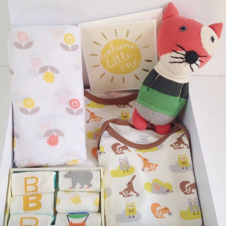 Image of Neutral Forest Baby Box