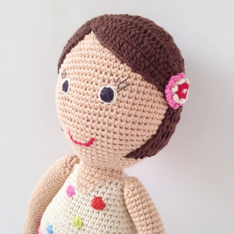 Image of Anne Claire Petit Hand Crochet Doll