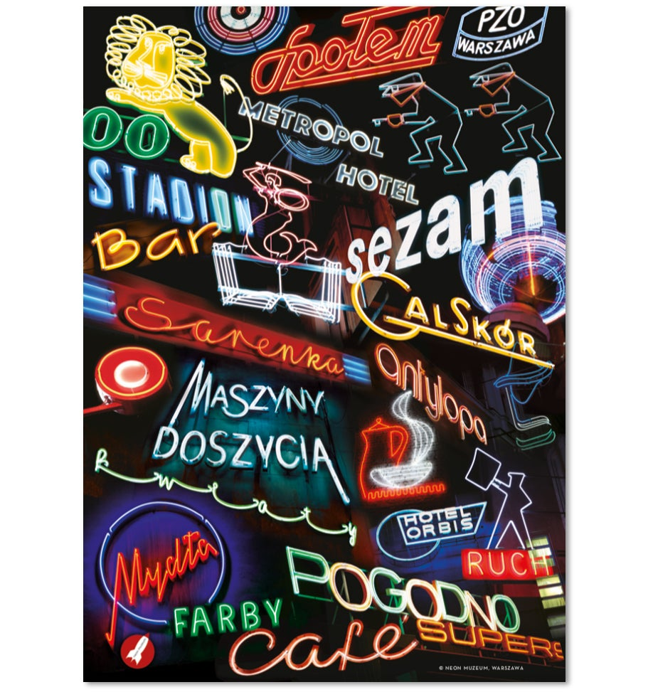 Image of 'Polish Neon' Poster
