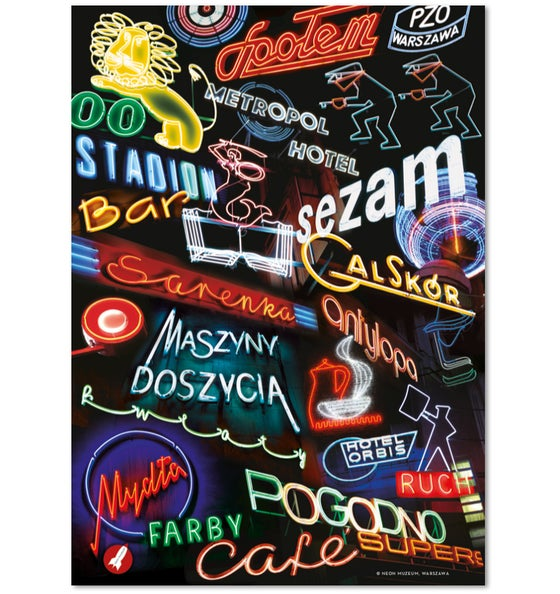 Image of 'Polish Neon' Poster