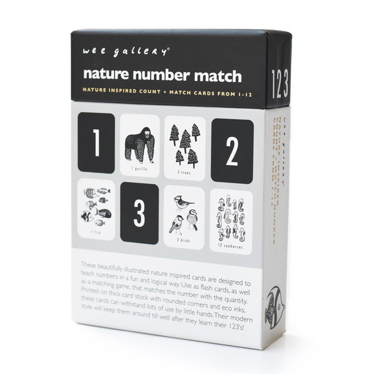 Image of Wee Gallery Nature Number Cards