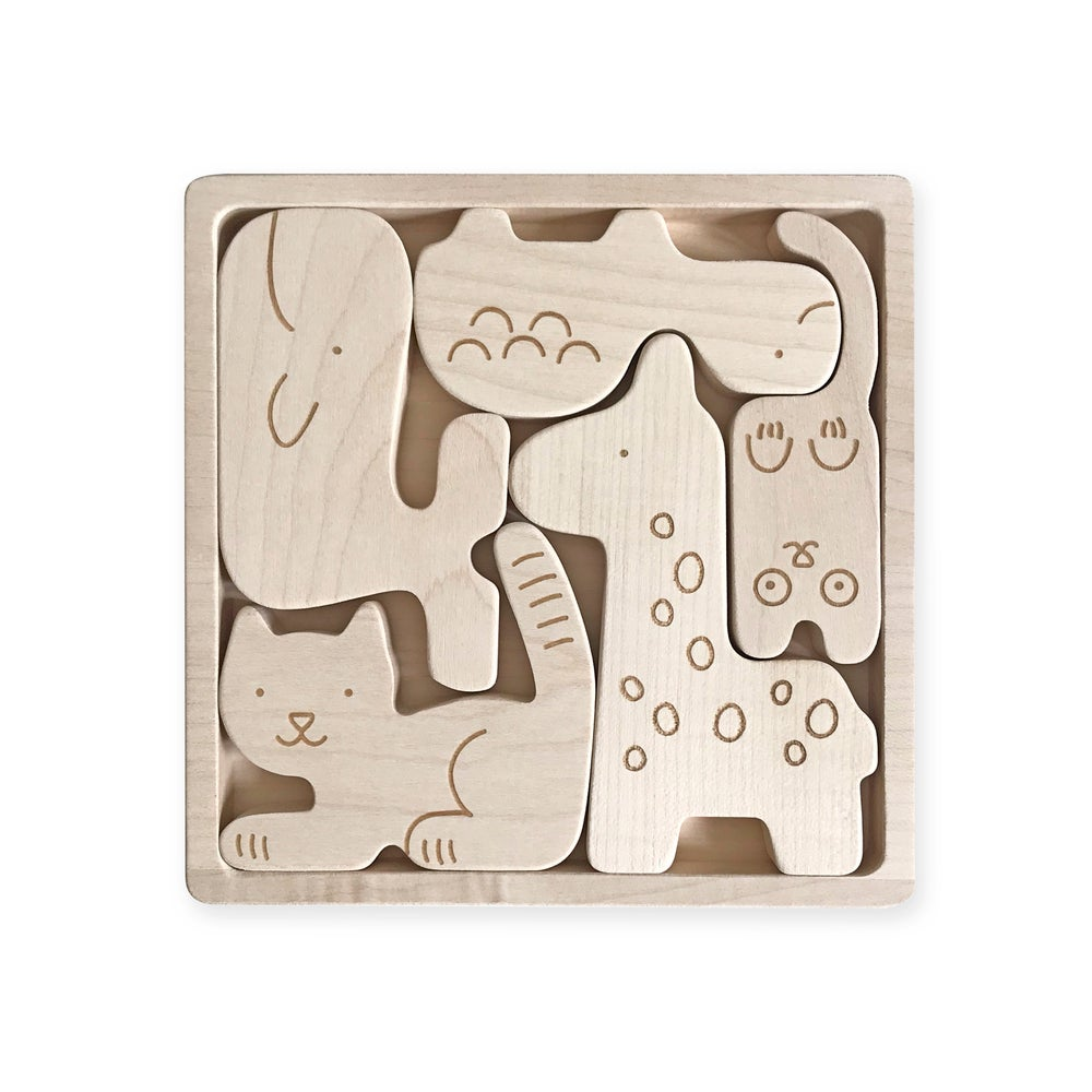 Image of Puzzle Animaux
