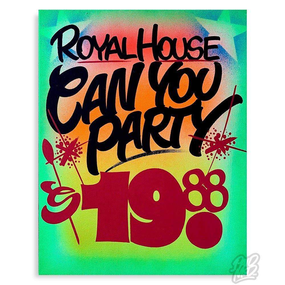 "Image of 11"" x 14"" - Can You Party"