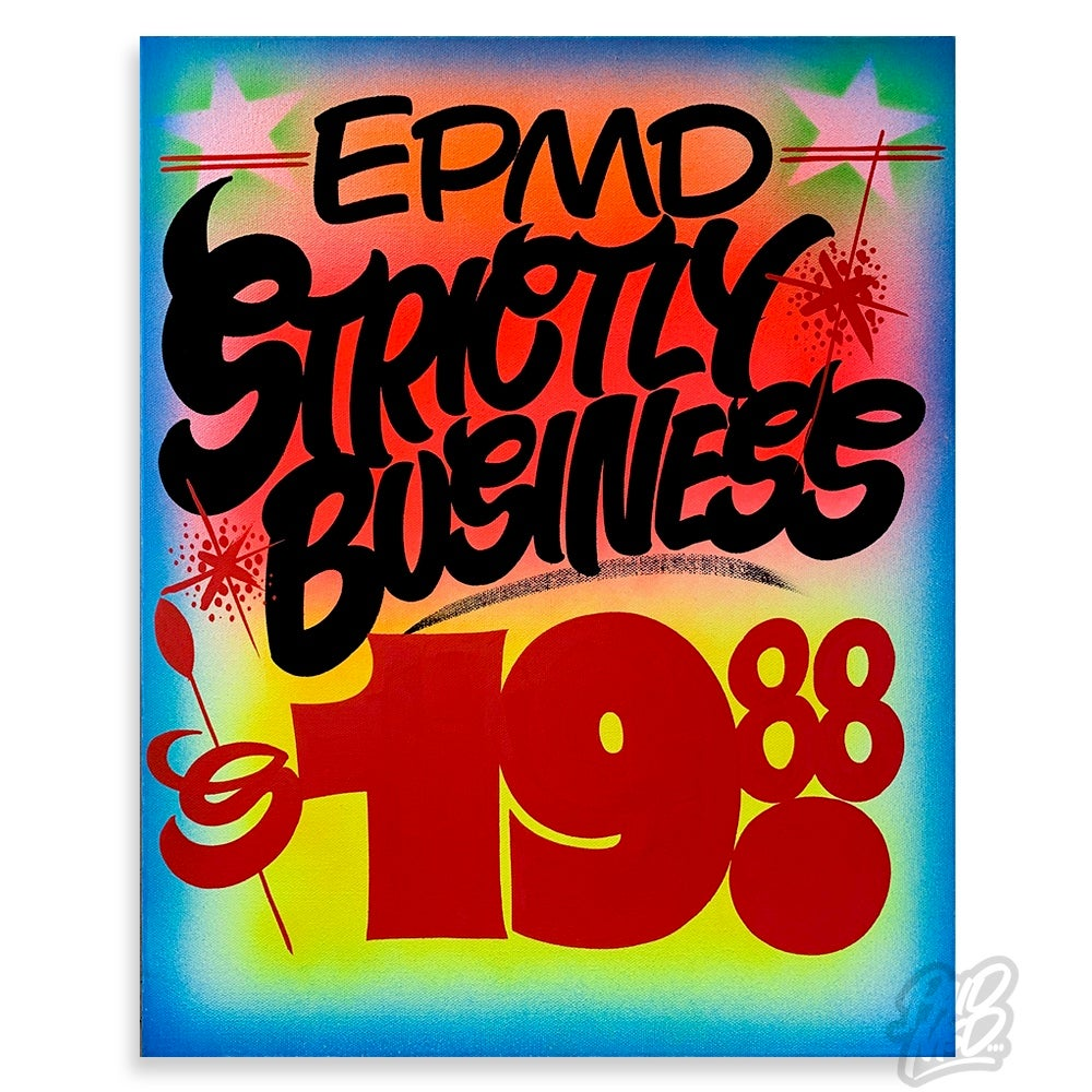 """Image of 16"""" x 20"""" - Strictly Business"""