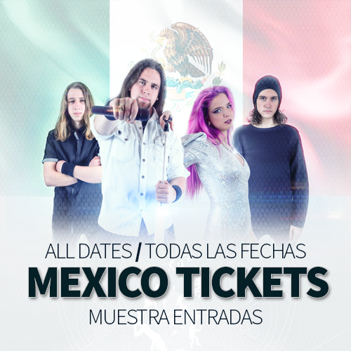 Image of TICKETS - DRAGONFLY EFFECT TOUR pt. 2, MEXICO!