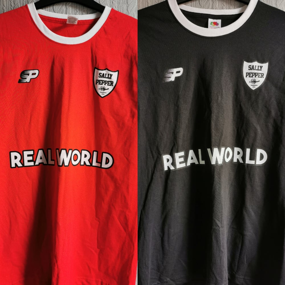 "Image of ""Real World"" Footy Shirt (Home/Away)"