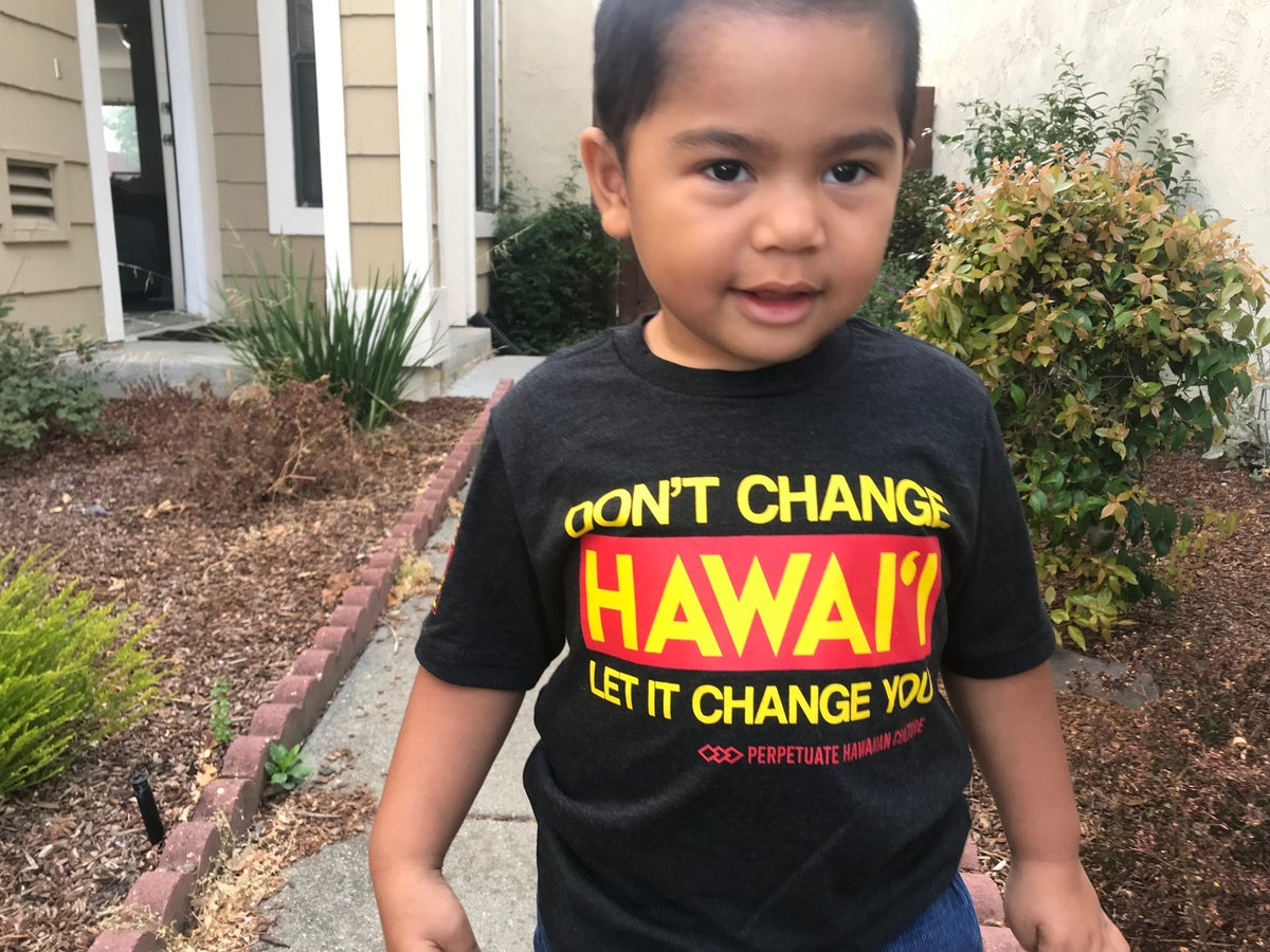 Image of Don't Change Hawai'i Shirt (Youth)
