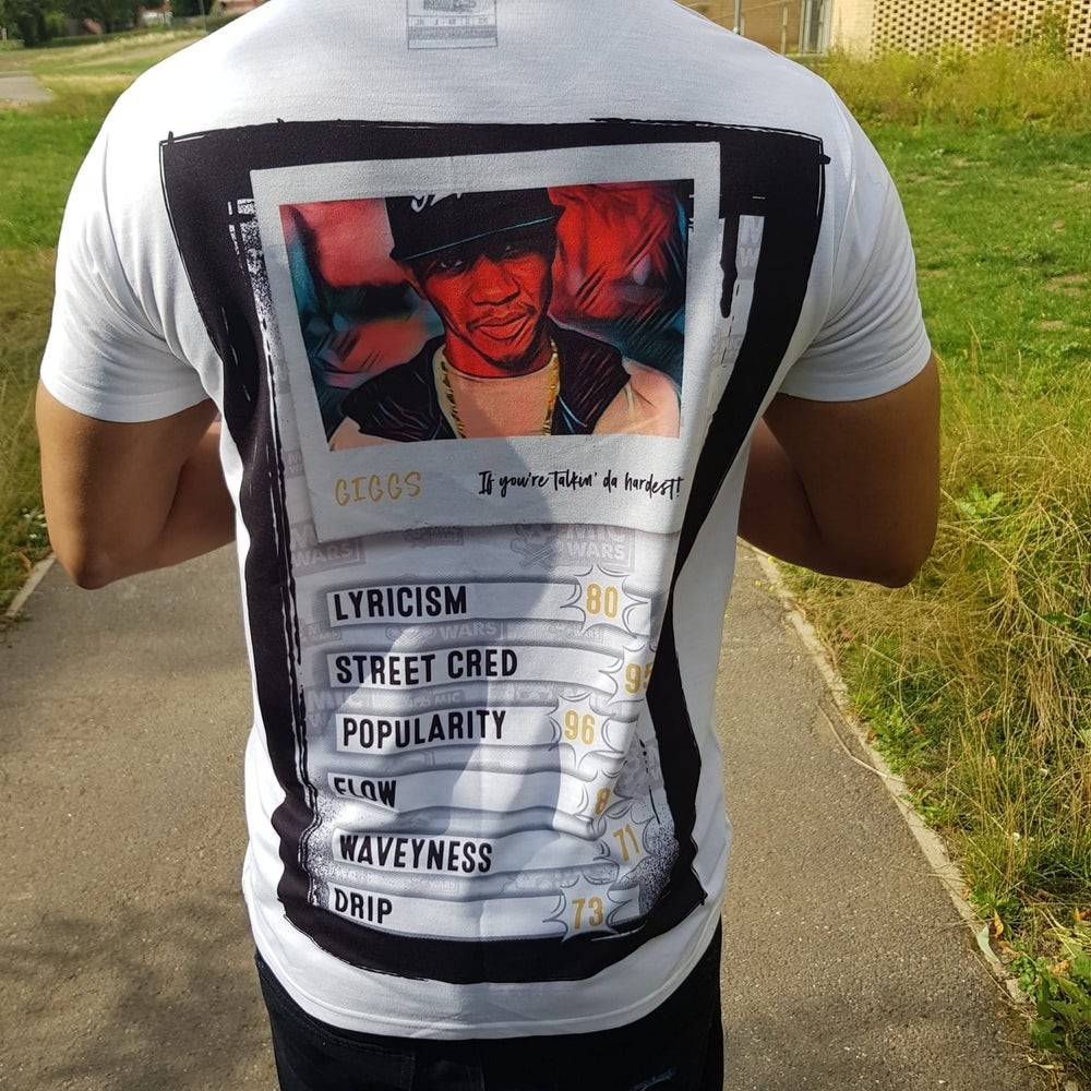 Image of Mic Wars fitted 'Giggs' T Shirt