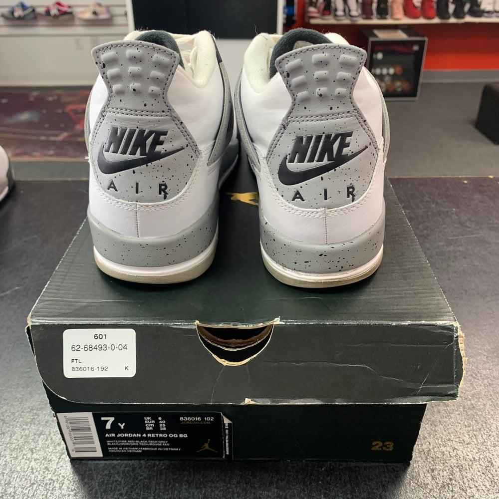 Image of Jordan 4 - Cement (2016) - Size 7
