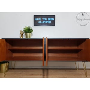Image of G plan sideboard/credenza in ash grey