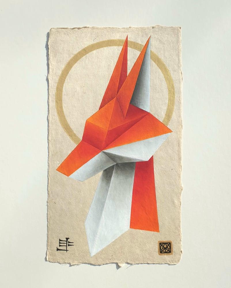 "Image of ""Ninhursag's messenger"" 2/2 original painting"