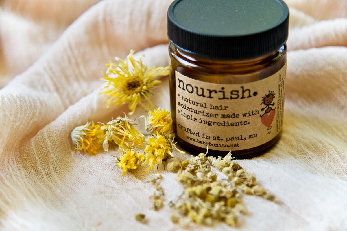 Image of nourish. (natural hair moisturizer)