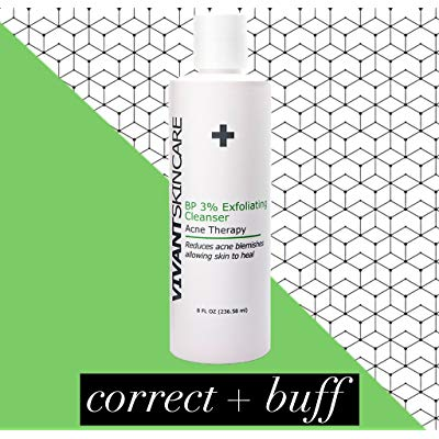Image of Vivant Skin Care BP 3% Exfoliating Cleanser Acne Treatment (8 fl. oz.)