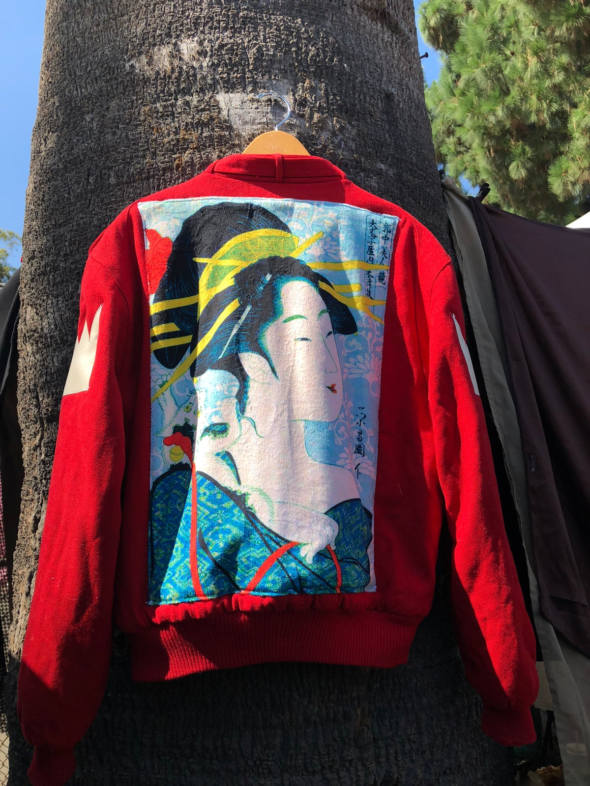 Image of Wool Members Only Geisha jacket