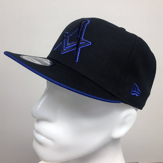 Image of New Era Black Royal Snap back