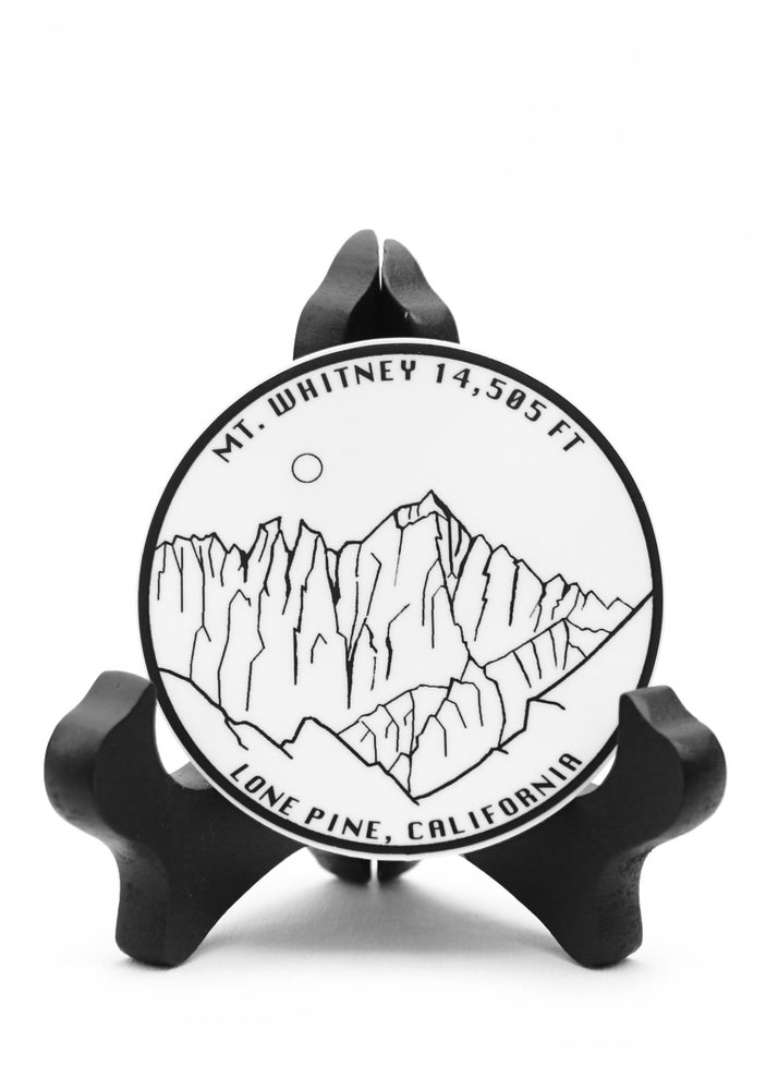 Image of Mt. Whitney Sticker